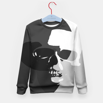 Thumbnail image of Shadows of Death Kid's Sweater, Live Heroes