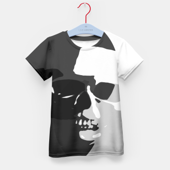 Thumbnail image of Shadows of Death Kid's T-shirt, Live Heroes