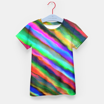 Thumbnail image of Strands of Colour Kid's T-shirt, Live Heroes