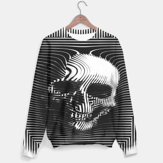 Thumbnail image of Skull Lines Sweater, Live Heroes
