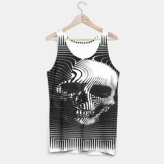 Thumbnail image of Skull Lines Tank Top, Live Heroes