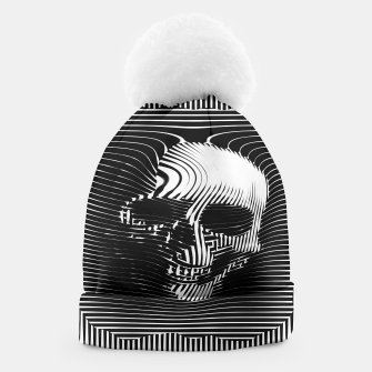Thumbnail image of Skull Lines Beanie, Live Heroes