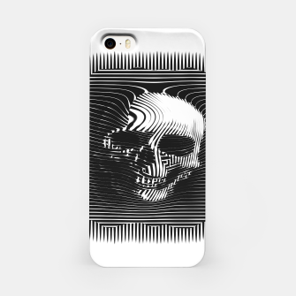 Thumbnail image of Skull Lines iPhone Case, Live Heroes