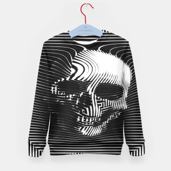 Thumbnail image of Skull Lines Kid's Sweater, Live Heroes