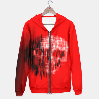 Thumbnail image of Etched Skull Hoodie, Live Heroes