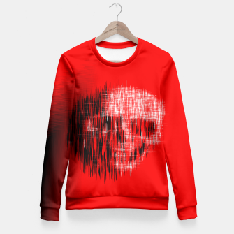 Thumbnail image of Etched Skull Fitted Waist Sweater, Live Heroes