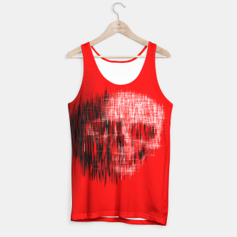 Thumbnail image of Etched Skull Tank Top, Live Heroes