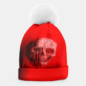 Thumbnail image of Etched Skull Beanie, Live Heroes