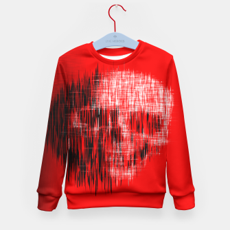 Thumbnail image of Etched Skull Kid's Sweater, Live Heroes