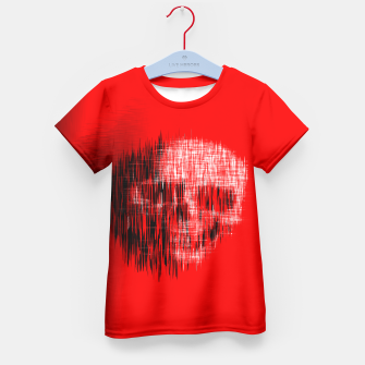 Thumbnail image of Etched Skull Kid's T-shirt, Live Heroes