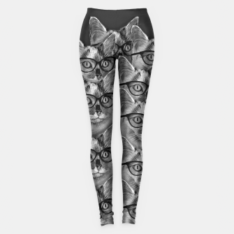 Thumbnail image of A Lot of Cool Cats Leggings, Live Heroes