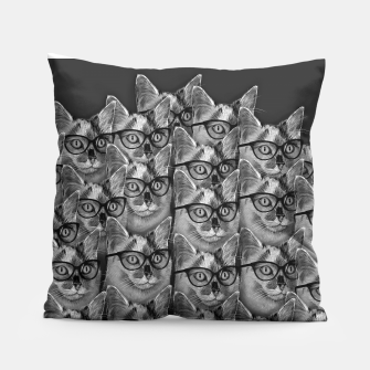 Thumbnail image of A Lot of Cool Cats Pillow, Live Heroes