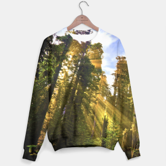 Thumbnail image of Magical Redwood Forest Sweater, Live Heroes