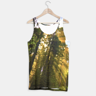 Thumbnail image of Magical Redwood Forest Tank Top, Live Heroes