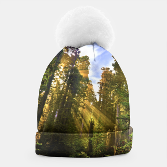 Thumbnail image of Magical Redwood Forest Beanie, Live Heroes