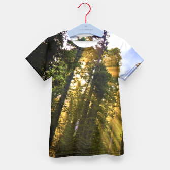 Thumbnail image of Magical Redwood Forest Kid's T-shirt, Live Heroes