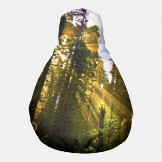 Thumbnail image of Magical Redwood Forest Pouf, Live Heroes