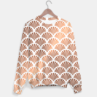 Thumbnail image of Art Deco Shells Pattern Sweater, Live Heroes