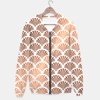 Thumbnail image of Art Deco Shells Pattern Hoodie, Live Heroes