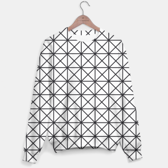 Thumbnail image of Prism Pattern Optical Illusion Sweater, Live Heroes
