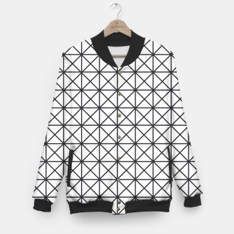 Thumbnail image of Prism Pattern Optical Illusion Baseball Jacket, Live Heroes
