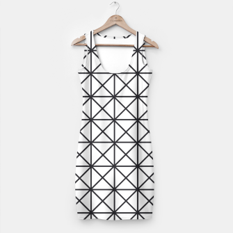 Thumbnail image of Prism Pattern Optical Illusion Simple Dress, Live Heroes