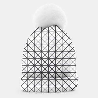 Thumbnail image of Prism Pattern Optical Illusion Beanie, Live Heroes