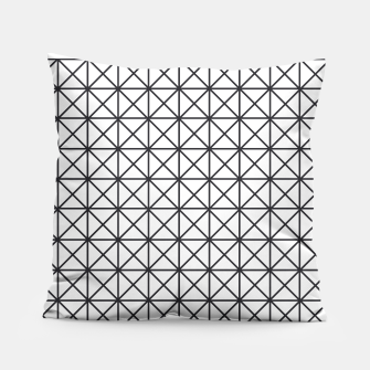 Thumbnail image of Prism Pattern Optical Illusion Pillow, Live Heroes