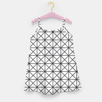 Thumbnail image of Prism Pattern Optical Illusion Girl's Dress, Live Heroes