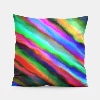 Thumbnail image of Strands of Colour Pillow, Live Heroes
