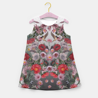 Thumbnail image of flowers and animals Girl's Summer Dress, Live Heroes