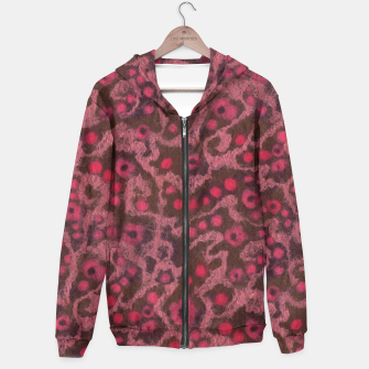 Thumbnail image of Pink Flowers, Blush Curves Hoodie, Live Heroes