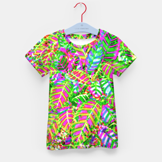 Thumbnail image of Leaves in Dappled Light Kid's T-shirt, Live Heroes
