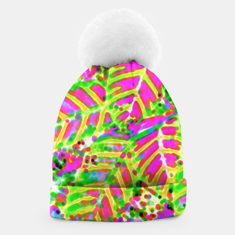Thumbnail image of Leaves in Dappled Light Beanie, Live Heroes
