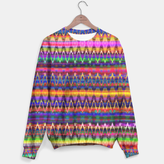 Thumbnail image of Sounds of Colourful Birds Sweater, Live Heroes