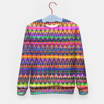 Thumbnail image of Sounds of Colourful Birds Kid's Sweater, Live Heroes