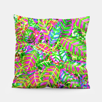 Thumbnail image of Leaves in Dappled Light Pillow, Live Heroes