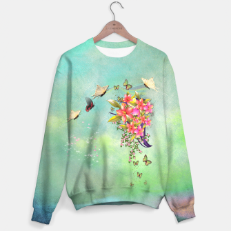 Thumbnail image of Trendy Flower Bouquet Sweater, Live Heroes