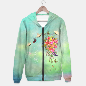 Thumbnail image of Trendy Flower Bouquet Hoodie, Live Heroes