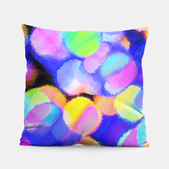 Thumbnail image of Microcosm 2 Pillow, Live Heroes