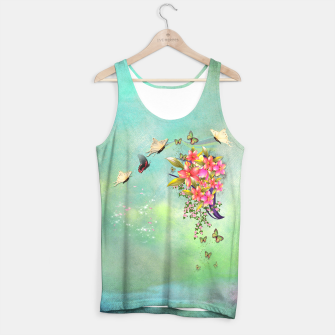 Trendy Flower Bouquet Tank Top thumbnail image