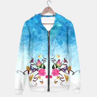 Thumbnail image of Gold and roses hoodie , Live Heroes