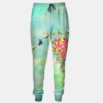 Trendy Flower Bouquet Sweatpants thumbnail image