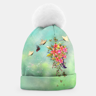 Trendy Flower Bouquet Beanie thumbnail image