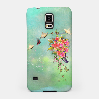 Trendy Flower Bouquet Samsung Case thumbnail image