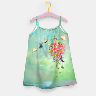 Trendy Flower Bouquet Girl's Dress thumbnail image