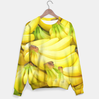 Thumbnail image of Banana Pattern Sweater, Live Heroes