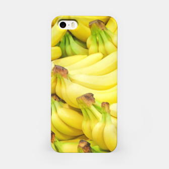 Thumbnail image of Banana Pattern iPhone Case, Live Heroes