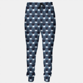 Thumbnail image of Faux Midnight Leather Buttoned Sweatpants, Live Heroes