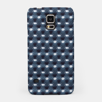 Thumbnail image of Faux Midnight Leather Buttoned Samsung Case, Live Heroes
